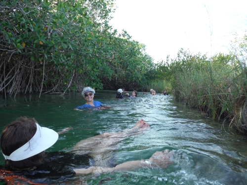 Floating down an ancient Mayan Canal was nothing short of magical.