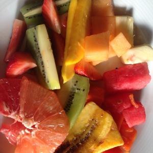 Ah the fruit!